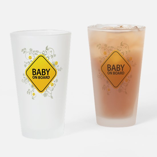 Baby on Board - Baby Drinking Glass