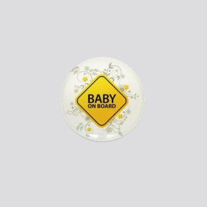 Baby on Board - Baby Mini Button