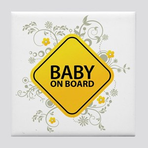 Baby on Board - Baby Tile Coaster