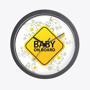 Baby on Board - Baby Wall Clock