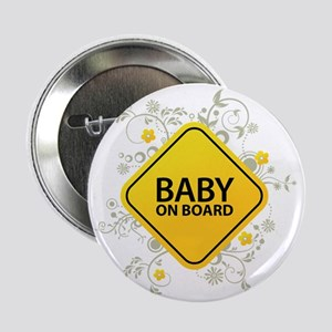 """Baby on Board - Baby 2.25"""" Button"""