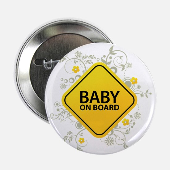 "Baby on Board - Baby 2.25"" Button"