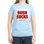 """Bush Sucks"" Women's Light T-Shirt"