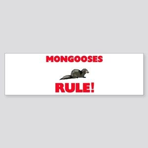 Mongooses Rule! Bumper Sticker