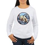 Polar Bear Art Women's Long Sleeve T-Shirt