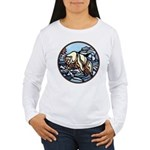 Polar Bear Art Women's Long Sleeve T-Shirt
