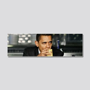 Barack Obama Coffee Mug Car Magnet 10 x 3