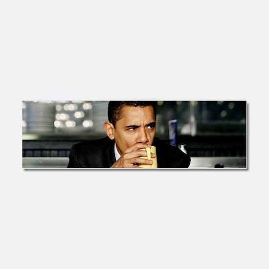 Barack Obama Coffee Mug Car Magnet 10 x 3