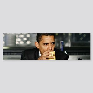 Barack Obama Coffee Mug Sticker (Bumper)