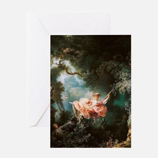 Jean-Honoré Fragonard The Swing Greeting Card