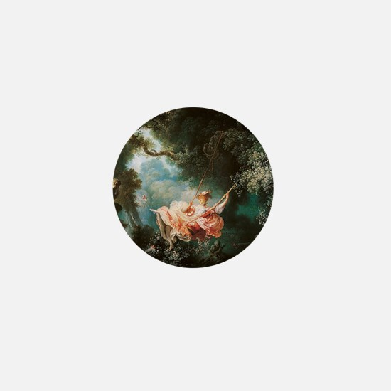 Jean-Honoré Fragonard The Swing Mini Button