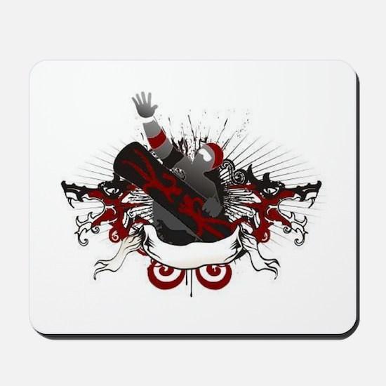 Dragon Snowboard Mousepad