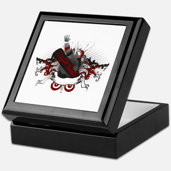 Dragon Snowboard Keepsake Box