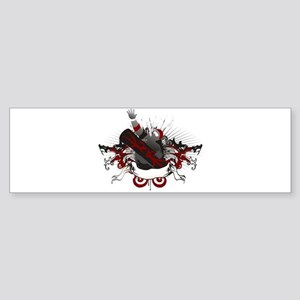 Dragon Snowboard Bumper Sticker