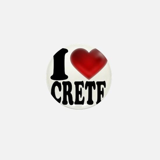 I Heart Crete Mini Button