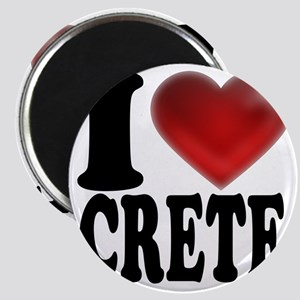 I Heart Crete Magnet
