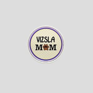 Vizsla Dog Mom Mini Button