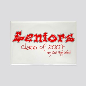 Class of 2007 Seniors Grafitti Style Rectangle Mag