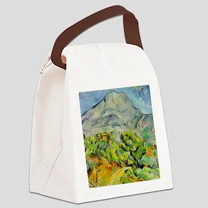 Mont Sainte-Victoire Canvas Lunch Bag
