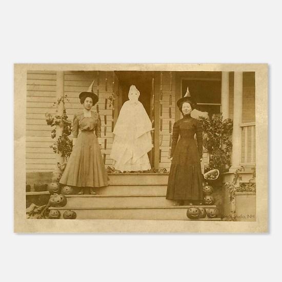 Vintage Halloween Photogr Postcards (Package of 8)