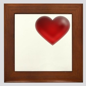 I Heart Crete Framed Tile