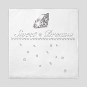 Sweet Dreams of Diamonds Queen Duvet