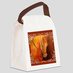 Hanoverian Stallion Canvas Lunch Bag