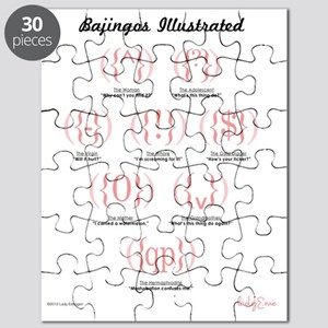 Bajingos Illustrated Puzzle
