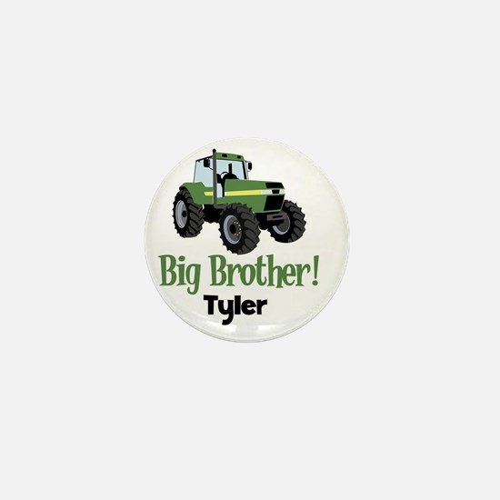 Big Brother Tractor Shirt - Tyler Mini Button