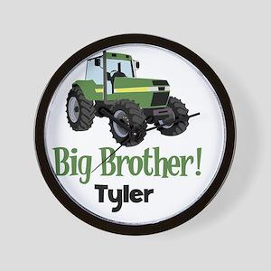Big Brother Tractor Shirt - Tyler Wall Clock