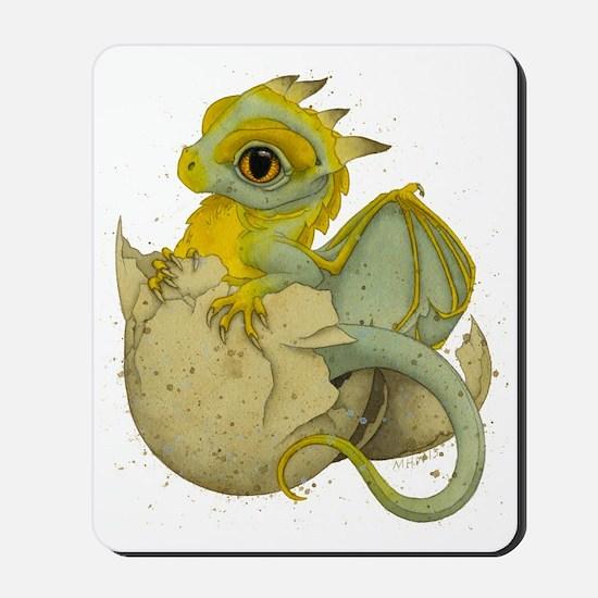 Obscenely Cute Dragon Mousepad