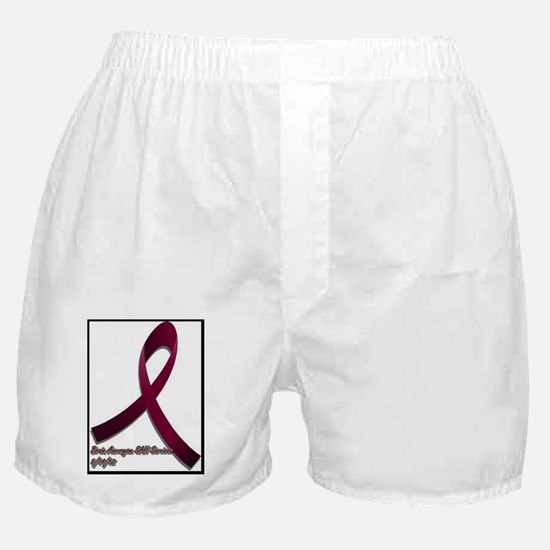 Brain aneurysm awareness ribbon Boxer Shorts