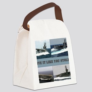 Drive it like you stole it Canvas Lunch Bag