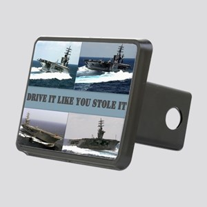 Drive it like you stole it Rectangular Hitch Cover