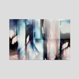 ink blur Magnets