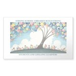 Magical Reading Tree Sticker