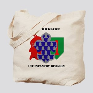 1st Brigade, 1st Infantry Division with T Tote Bag