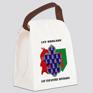1st Brigade, 1st Infantry Divisio Canvas Lunch Bag