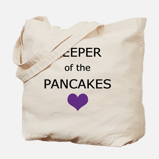 Keeper of the Pancakes Tote Bag