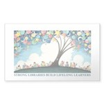 Frazees Magical Reading Tree Sticker