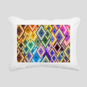 Color Art Rectangular Canvas Pillow