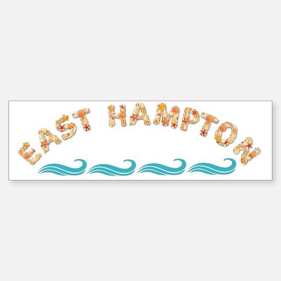 East Hampton Seashells Sticker (Bumper)