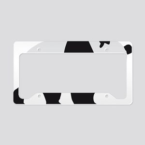 panda bear License Plate Holder