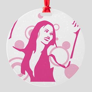 dance girl Round Ornament