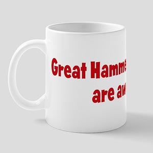 Great Hammerhead Sharks are a Mug