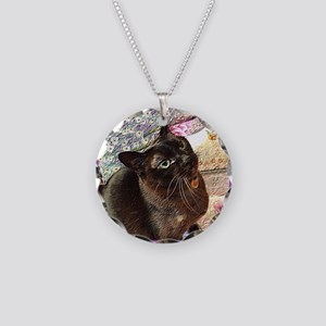 Kiwi in a box - 1 Necklace Circle Charm
