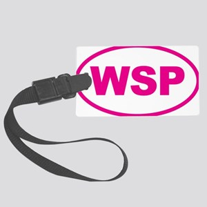 Weird Stinky People Large Luggage Tag