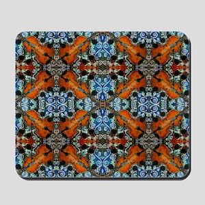 Fiddle Batik Repeat Mousepad