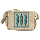 Surfboard Canvas Messenger Bags