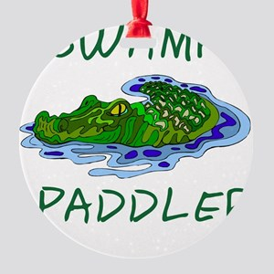 Swamp Paddler Round Ornament